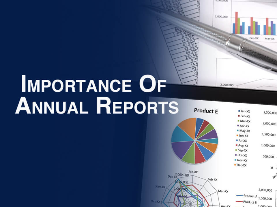 why nonprofit annual reports are important