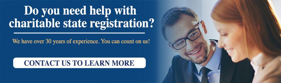 Charity Registration Information