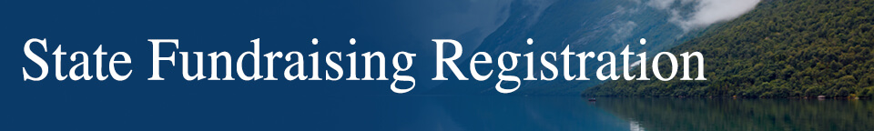 State Fundraising Registration