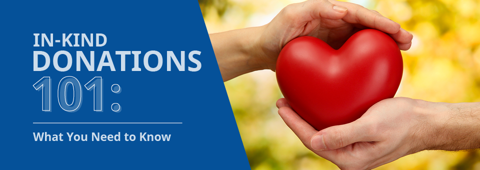 Learn how to classify and acknowledge in-kind donations with this quick guide.